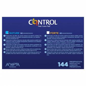Control Preservativo Nature Caja - 144 preservativos. Envíos a Lleida