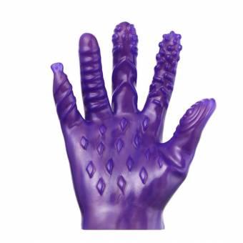 NINGNETI Juguetes sexuales anales para Mujeres y Hombres Anal Punto G Masaje Sticks Juguetes sexuales Guantes (Purple). Envíos a Álava