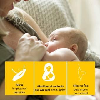 Pezonera para lactancia con estuche Medela, talla M (20 mm). Envíos a Murcia