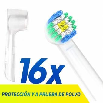 RecambiosCepilloOralBCabezales cepilloelétrico diente profesionalCabezalesdeCepilloOralBCompatibleyLimpiezaeficiente-Paquetede16. Envíos a Las Palmas