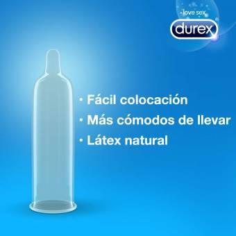 Durex Preservativos Natural Comfort 24 Condones. Envíos a Segovia