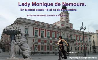 Lady Monique de Nemours en Madrid