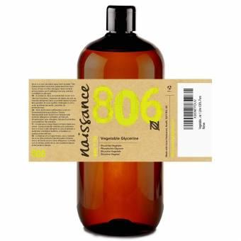 Naissance Glicerina Vegetal n. º 806 – 1 Litro– Vegana, grado EP y no OGM – Humectante natural ideal para elaborar productos cosméticos para la piel y el cabello.. Envíos a Granada