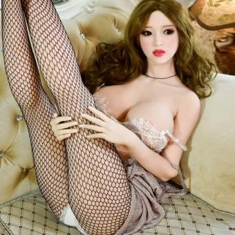 HRhetrin 160cm TPE Doll Muñeca Sexual Silicona Para Hombre Adultos,100% Sólido y Esqueleto de Metal,Great Breast Big Hip. Envíos a Almería