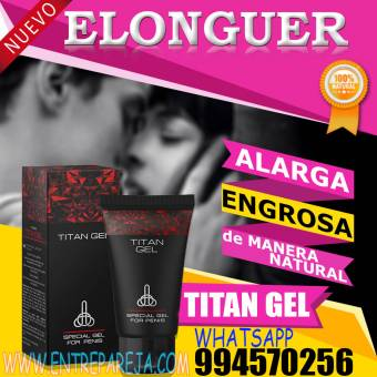 TITAN GEL ANCASH SEXSHOP OFERTAS DILDOS TLF: 01 6221274 - 994570256