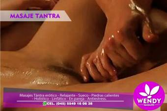Masaje erotico de relajacion con mucha sensualidad por bella masajista en la condesa