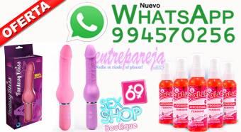 Vibrador de pene curvado de 6.5 pulgadas en rosa fuerte Tlf: 01 4724566 - 994570256