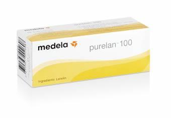 Purelan 100 Medela - Crema de lanonina 100% natural para pezones sensibles, secos o agrietados 37 gr. Envíos a Almería