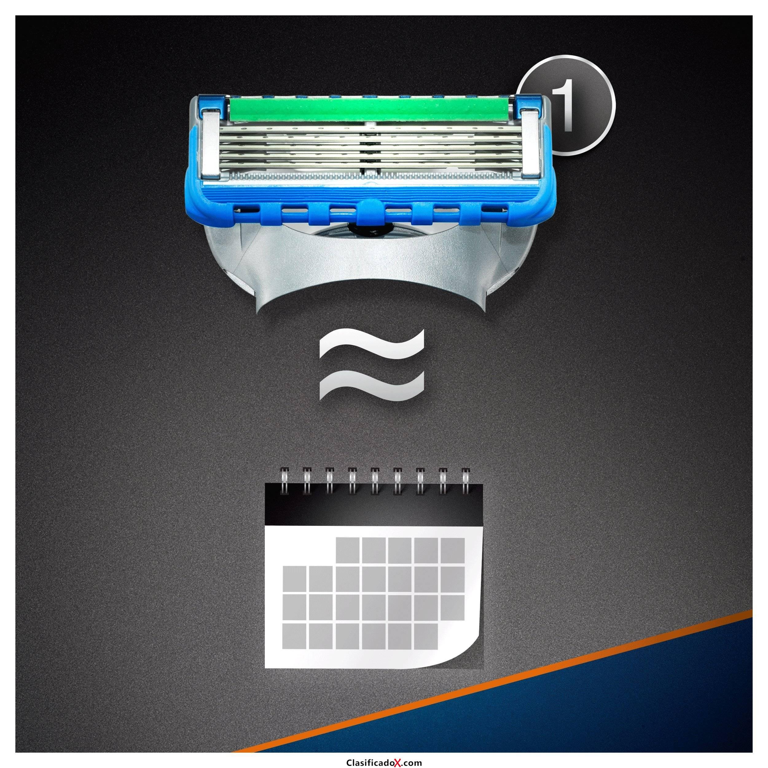 Gillette Fusion ProGlide Power Maquina de afeitar para hombre con Tecnología Flexball. Envíos a Palencia