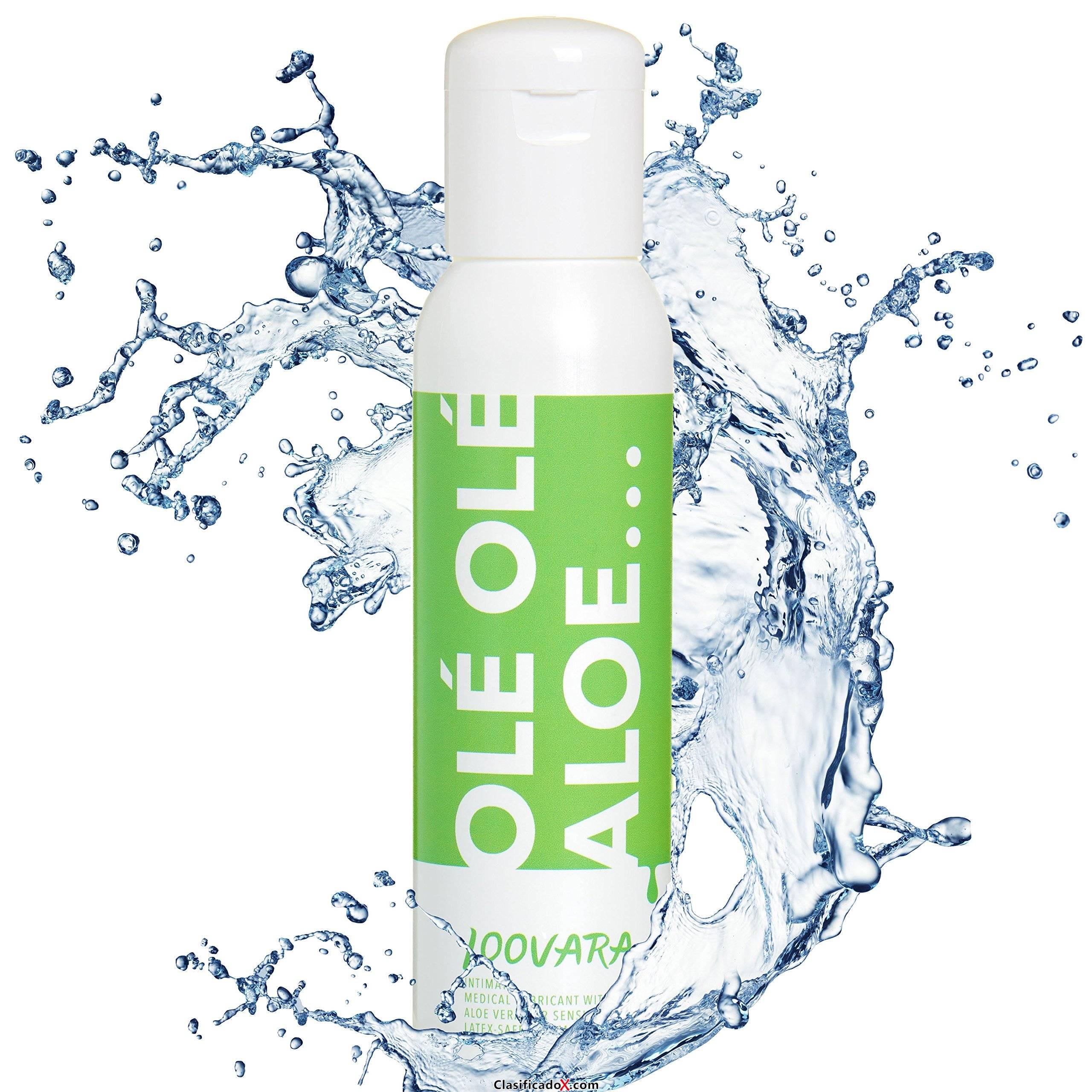 Loovara gel Lubricante OleOleAloe (250 ml) lubricantes sexuales a base de agua, con Aloe Vera para pieles sensibles. Envíos a Almería