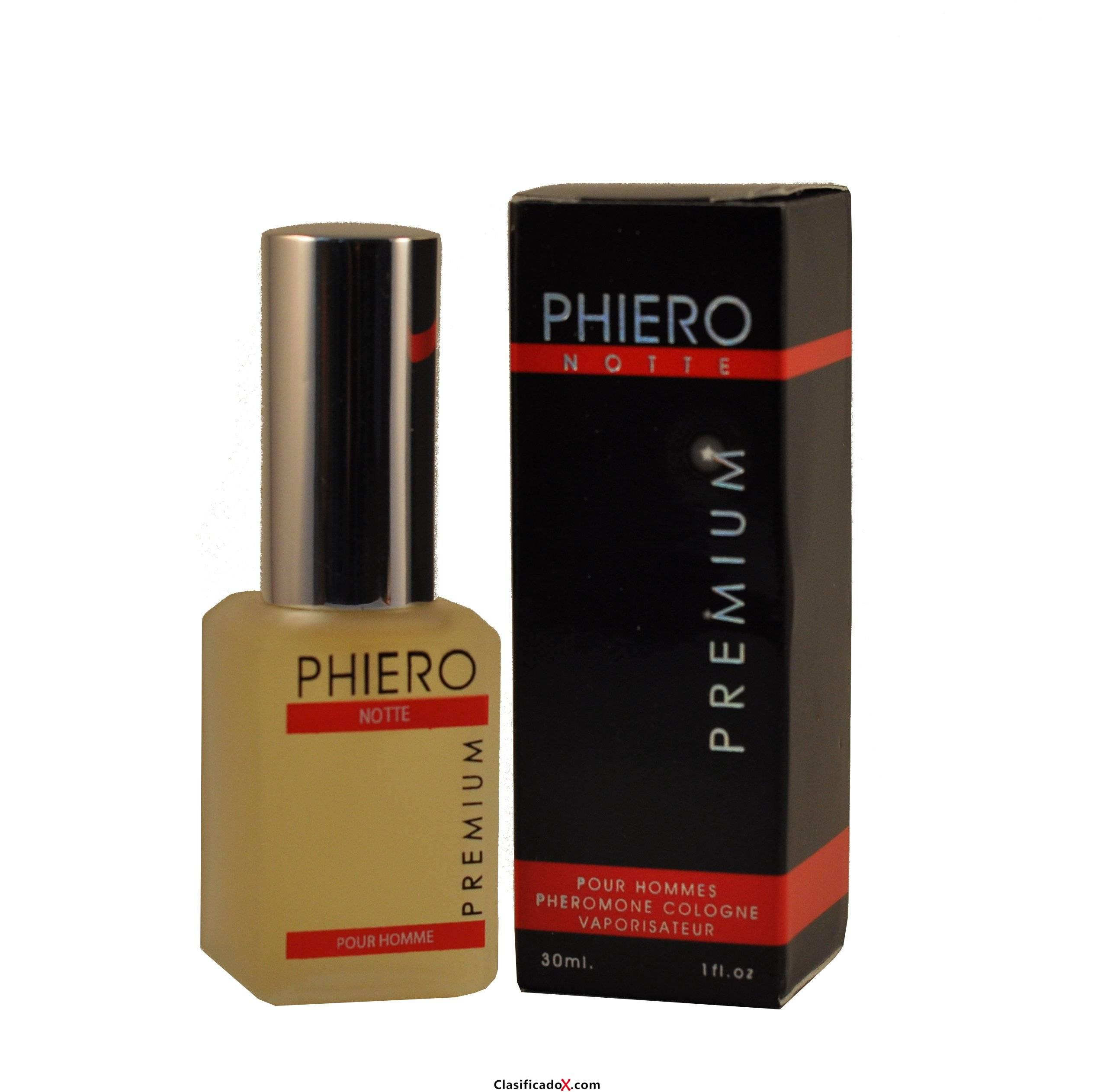 PHiERO notte PREMIUM - agua de colonia con feromonas para hombres 30ml espray. Envíos a Las Palmas