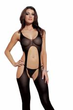 Dreamgirl de Mujeres Madrid liga Body, Negro, un tamaño. Envíos a Albacete