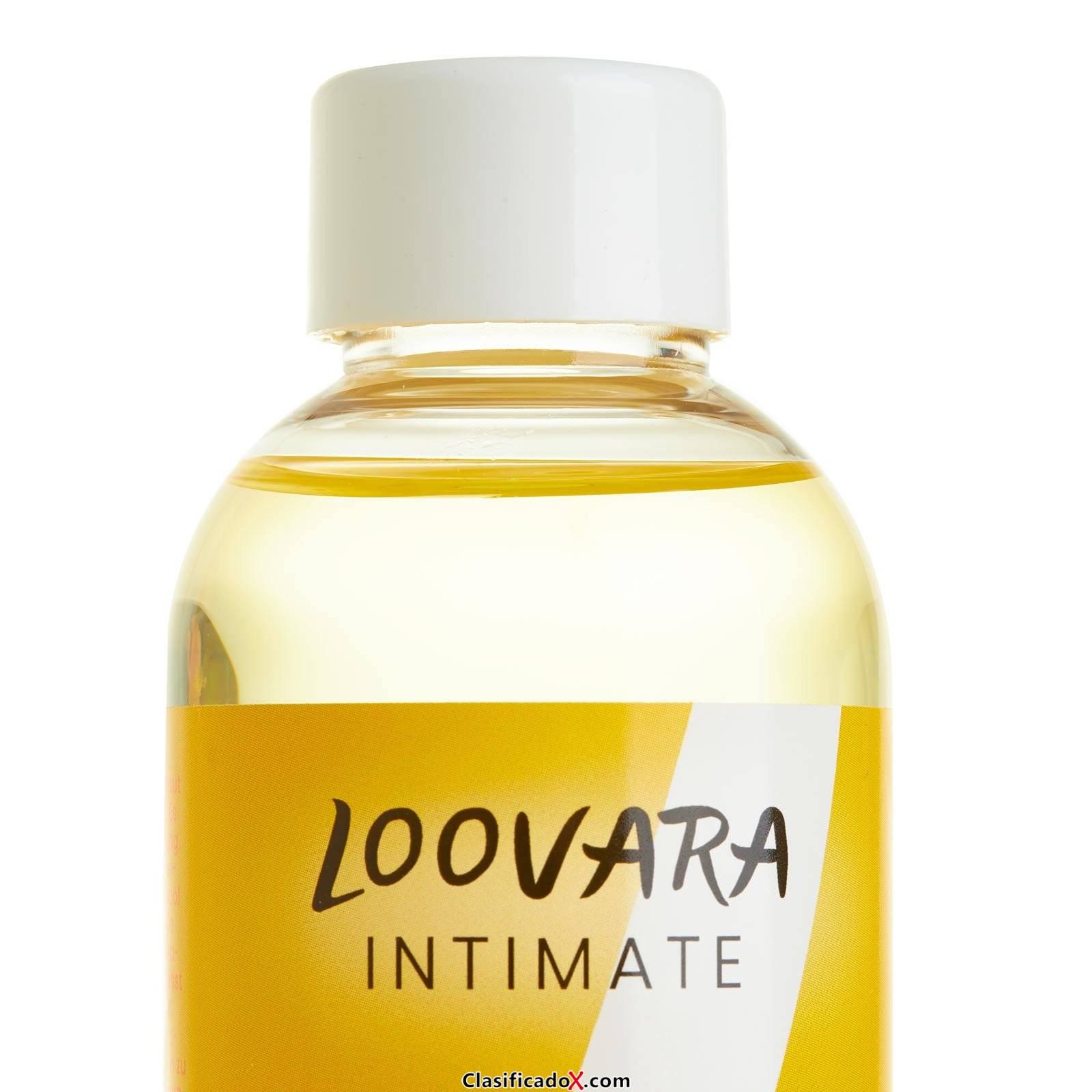 Loovara Mamá aceite de masaje (200 ml) con aceite de Jojoba y aceite de Almendra para prevenir las Estrías y para el masaje Perineal durante el Embarazo, Made in Germany. Envíos a Las Palmas