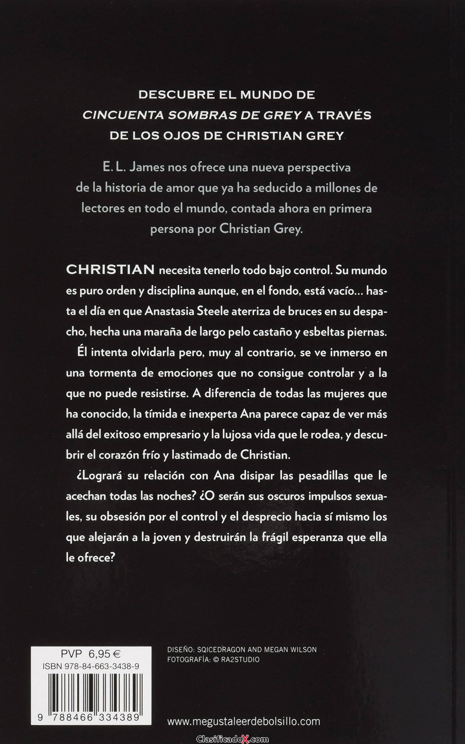 Grey («Cincuenta sombras» contada por Christian Grey 1) (BEST SELLER). Envíos a Las Palmas