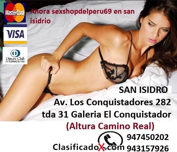 San Isidro: AV Los Conquistadores 282 tnda 31- LIMA Y SU SEXSHOP