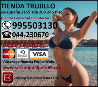 TRUJILLO -SEX SHOP -LENCERIA Y MUCHO MAS ***+