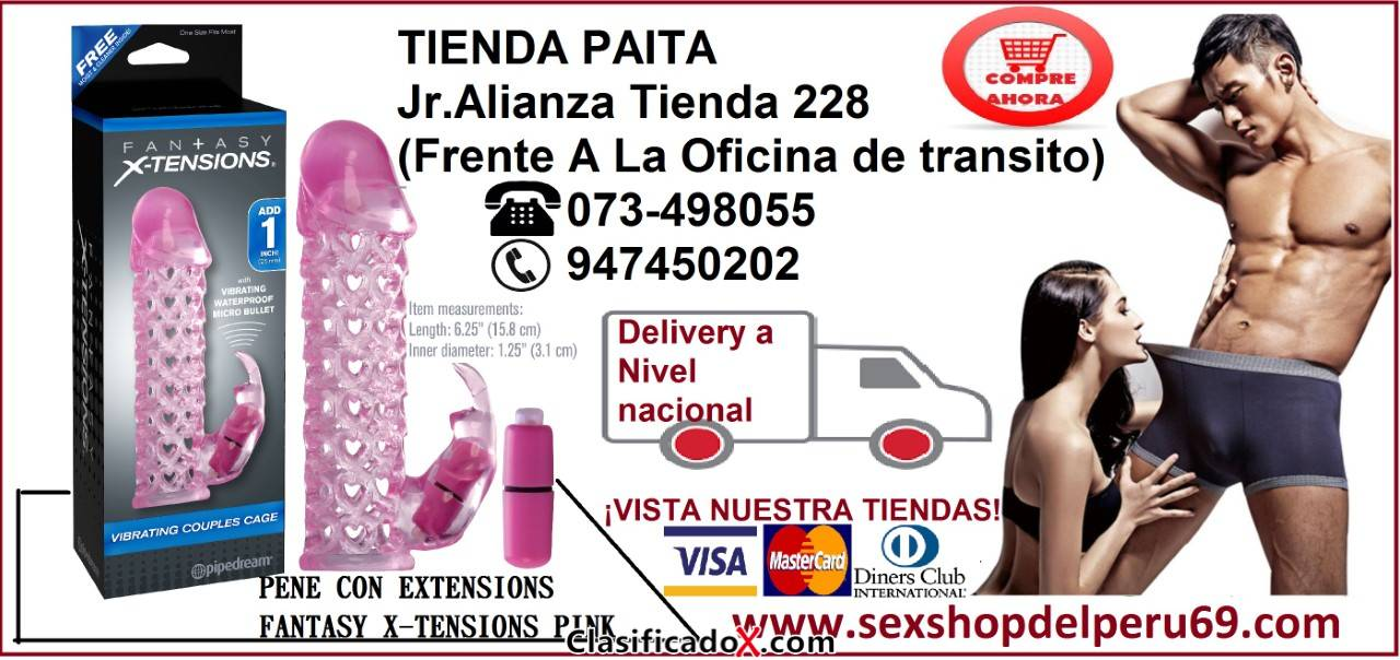 Sex-Shop-Fundas de Pene -Paita-Lima¡