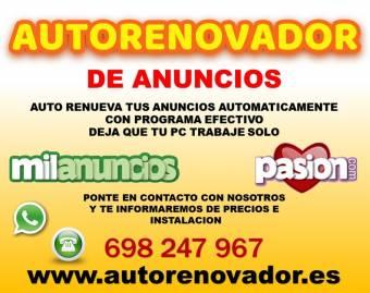 TUS ANUNCIOS EN LAS PRIMERAS POSICIONES, PROGRAMA AUTOMATICO