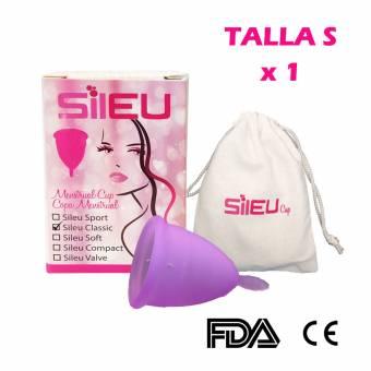 Copa menstrual Sileu Classic - Talla S - Mujeres que no han tenido hijos y/o están por debajo de los 25 años - 1 Unidad. Envíos a Málaga
