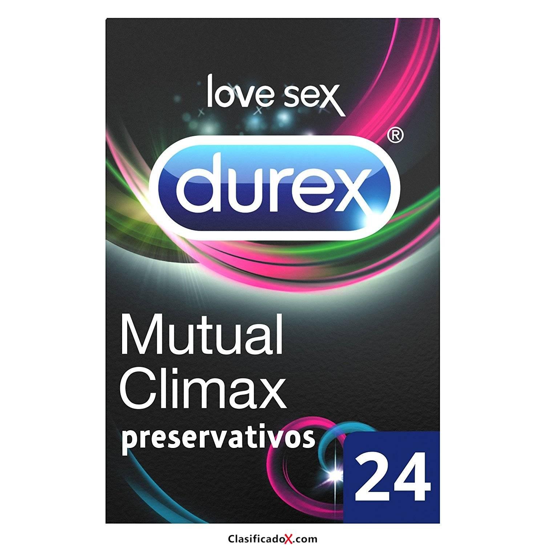 Durez Pack de Preservativos Climax Mutuo y Intense Orgasmic. Envíos a Almería