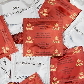 AMOR® 100 preservativos masculinos (Thin). Envíos a València