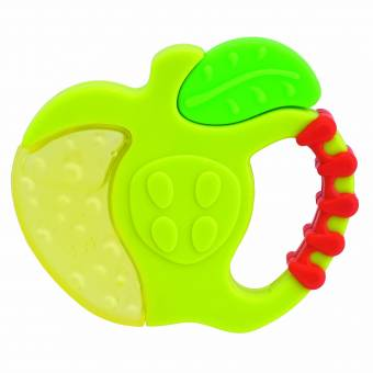 Chicco Fresh Relax - Mordedores de silicona que refrescan y alivian 4m+, colores surtidos. Envíos a Málaga