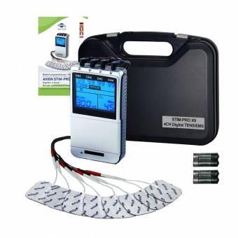 Electroestimulador profesional TENS EMS X9+ - para alivio del dolor, musculación y masaje - 4 canales - 45 programas - Aparato profesional para uso personal. Envíos a Granada