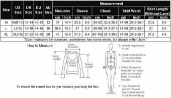 Scallop Mujer Lencería Sexy Disfraz Estilo Colegiala Estudiante Picardias Escolar Uniforme Atractiva Falda+Camisa. Envíos a Alacant