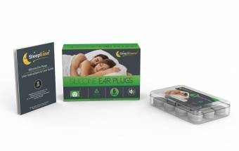 Tapones para los oídos de silicona SleepDreamz (6 pares) - ¡BLOQUEE YA EL RUIDO NO DESEADO! - Tapones para los oídos diseñados para proteger contra ruidos de alto decibelios - Tapones para los o?