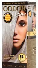 Color time, tinte permanente para el cabello de color rubio plata 88. Envíos a Málaga