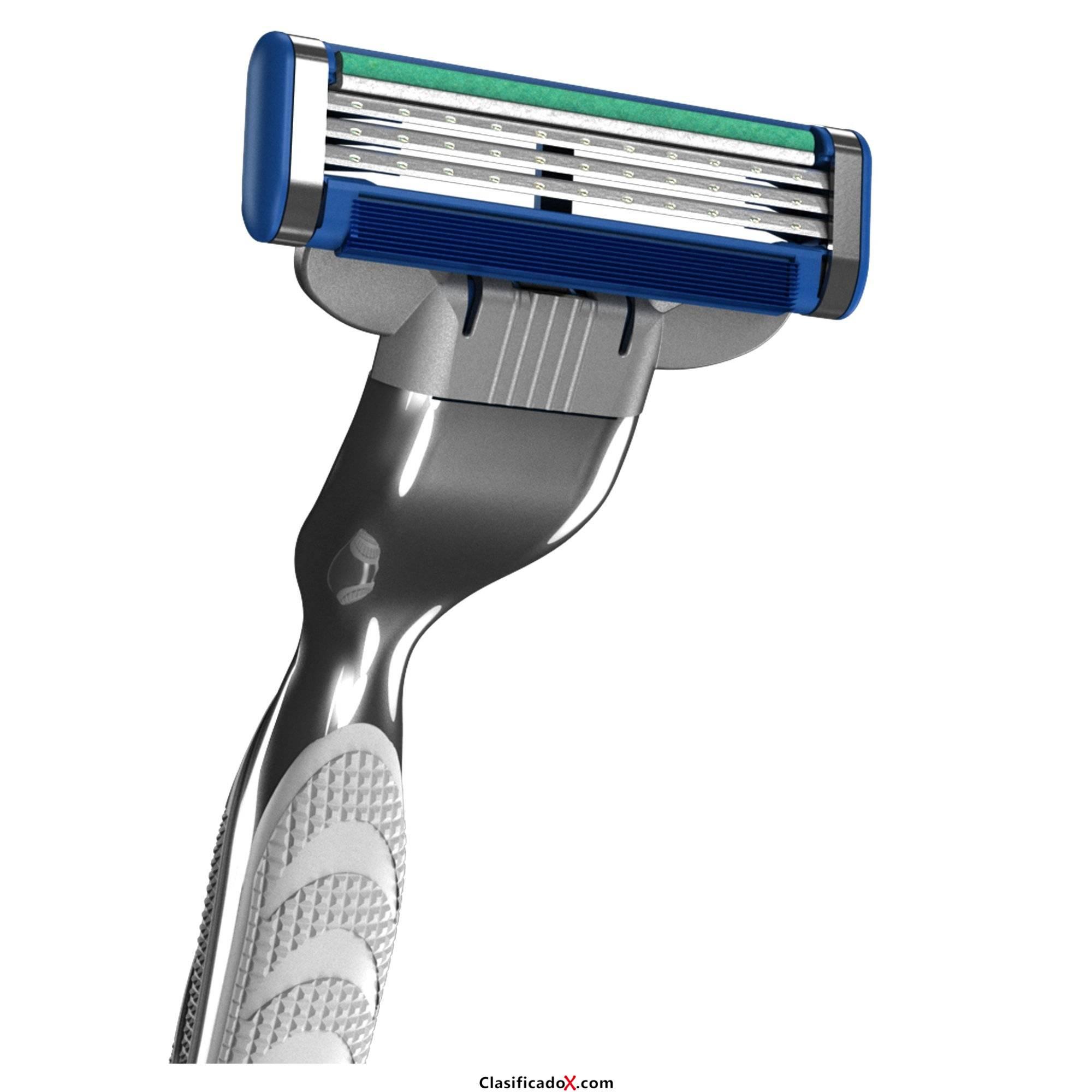 Gillette Mach3 Turbo X - Recambios para cuchilla de afeitar, 12 unidades. Envíos a Alacant