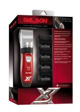 Palson Titanium X3 - Cortapelo recargable, color rojo. Envíos a Alacant