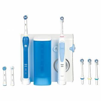 Oral-B Oxyjet + 2000 - Pack dental con cepillo de dientes recargable e irrigador Professional Care. Envíos a València