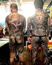 Tinta para tatuaje. Black Tribal 0.5oz (15ml.). Envíos a València