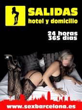 SALIDAS A HOTEL Y DOMICILIO 24 horas, 365 días!!!