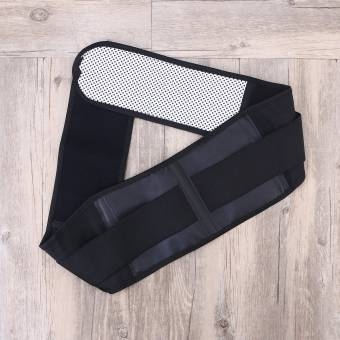 Healifty Terapia magnética Térmica de calentamiento automático Cinturón de cintura Soporte lumbar Soporte de apoyo - Talla XL (Negro). Envíos a Melilla