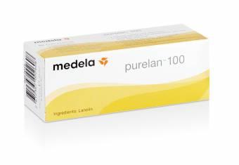 Purelan 100 Medela - Crema de lanonina 100% natural para pezones sensibles, secos o agrietados 37 gr. Envíos a Madrid
