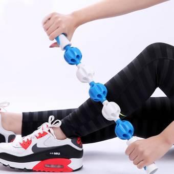 Health Rosary Masajeador Roller Masaje Muscle Stick Disparador Body Leg Back Exercise Roller. Envíos a Las Palmas