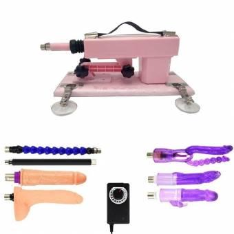Sex Machine - Ametralladora de masturbación automática con consolador para mujeres, máquina de follar súper fuerte y estable (Rosado). Envíos a Huelva