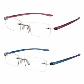 LianSan Gafas de Lectura Sin Montura Hombres de Moda Para Mujer Lectores Sin Marco 2 Paquetes L5017 pl-bu +1.50. Envíos a Almería
