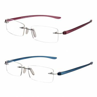 LianSan Gafas de Lectura Sin Montura Hombres de Moda Para Mujer Lectores Sin Marco 2 Paquetes L5017 pl-bu +1.50. Envíos a Barcelona
