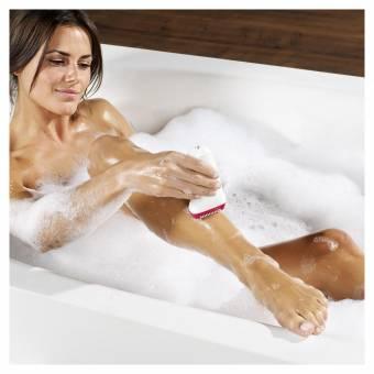 Braun Silk-épil 9 SkinSpa 9-969v - Depiladora para mujer, sistema 4 en 1 de exfoliación, cuidado de la piel y cepillo limpiador facial adicional, blanco. Envíos a Illes Balears