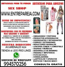 SEXSHOP PERU - TU TIENDA DE CONFIANZA - OFERTAS LENCERIA TLF: 01 4724566 - 994570256