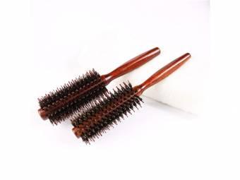 GOOTUOUOU Square Handle Comb Cilindro Forma Peine de pelo rizado Peine de masaje Peine de peluquería (Marrón). Envíos a Huelva