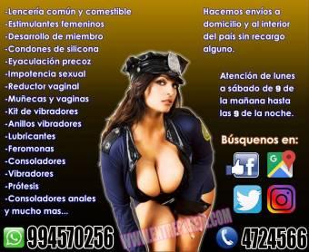 JUGUETES SEXUALES SEXSHOP GARANTIZADO TLF. 01 4724566 - 994570256