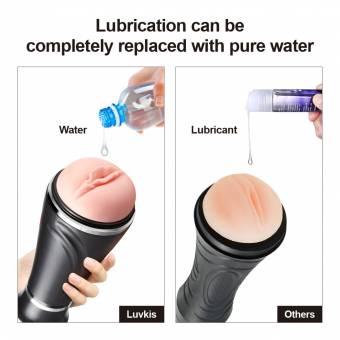 Luvkis Masturbación Realista Male Masturbators Pocket Pussy Realistic 3D Vagina Masturbation Cup para hombres Adult Toy Masturbador con toque y sensaciones reales (sin vibración). Envíos a Madrid