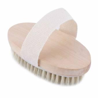 Zerama La Piel Seca del Cuerpo de cerdas Naturales del Cepillo Suave Cepillo de baño SPA Masaje casero. Envíos a València
