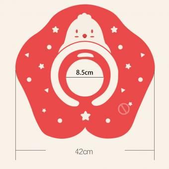 AMINSHAP Círculo Inflable de la Natación 0-12 Meses El Agua del Anti-estrangulador del bebé Puede Ajustar el Material Anti de la Protección del Medio Ambiente de la Bolsa de Aire Anti del vuelco.