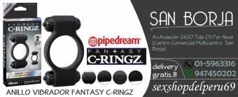 Anillo vibrador fantasy C-Ringz..