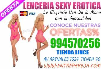 LENCERIA SENSUAL SEXSHOP BOUTIQUE EROTICA LINCE TLF. 01 6221274 - 994570256